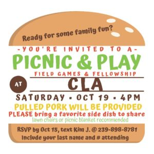 CLA Picnic and Play