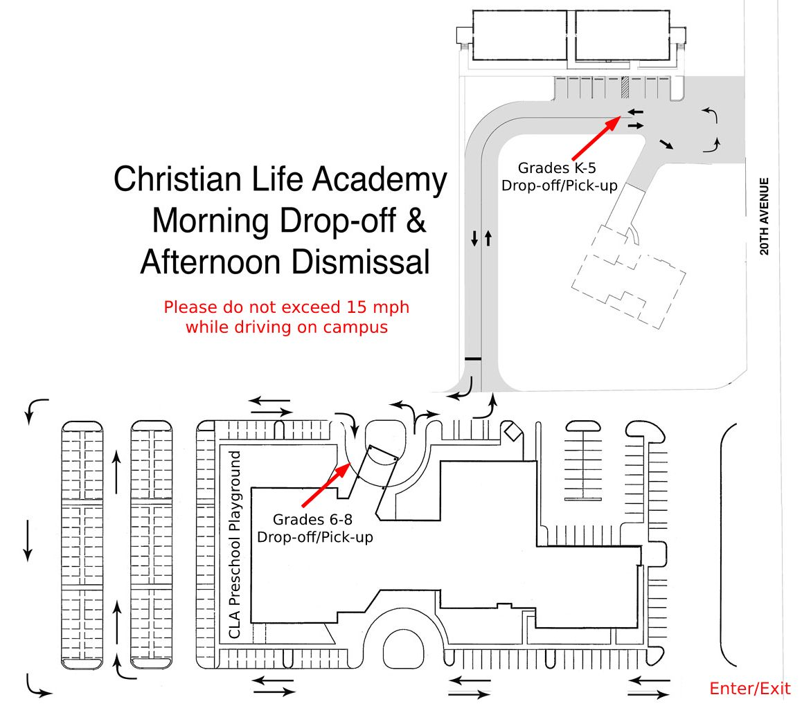 Elementary/Middle Drop off