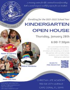 2021 Kindergarten Open House